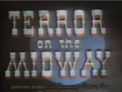 Affiche Terror on the Midway