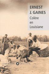 Couverture Colère en Louisiane