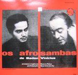 Pochette Os Afro-Sambas de Baden e Vinicius