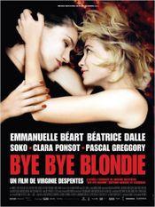Affiche Bye Bye Blondie