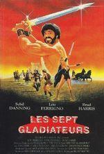Affiche Les sept Gladiateurs
