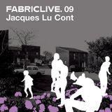 Pochette FabricLive 09: Jacques Lu Cont