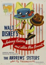 Affiche Johnnie Fedora and Alice Bluebonnet
