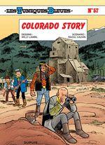 Couverture Colorado Story - Les Tuniques bleues, tome 57
