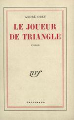 Couverture Le Joueur de triangle