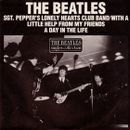 Pochette Sgt. Pepper's Lonely Hearts Club Band / With a Little Help From My Friends (Single)