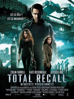 Affiche Total Recall : Mémoires programmées