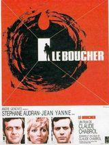 Affiche Le Boucher