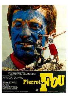 Affiche Pierrot le Fou