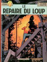 Couverture Le Repaire du loup - Lefranc, tome 4