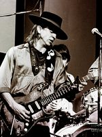 Photo Stevie Ray Vaughan