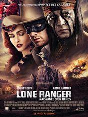 Affiche Lone Ranger : Naissance d'un héros