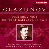 Pochette Symphony no. 3 / Concert Waltzes nos. 1 & 2
