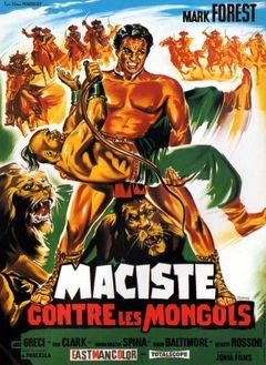 Affiche Maciste contre les Mongols