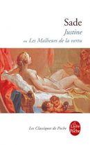 Couverture Justine, ou les malheurs de la vertu