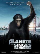 Affiche La Planète des singes : Les Origines