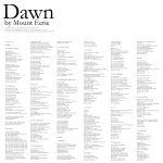 Pochette Dawn