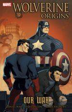 Couverture Our War - Wolverine Origins, tome 4