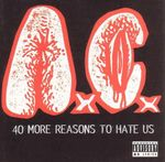 Pochette 40 More Reasons to Hate Us