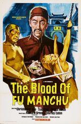 Affiche Le sang de Fu Manchu