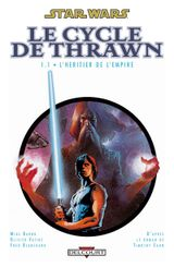 Couverture L'Héritier de l'Empire : Volume 1 - Star Wars : Le Cycle de Thrawn, tome 1