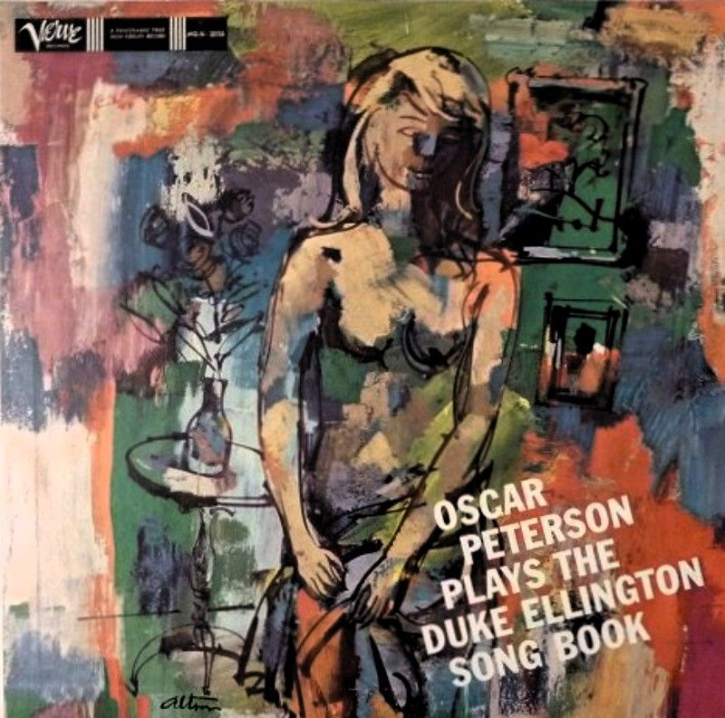 Images on oscar peterson plays duke ellington