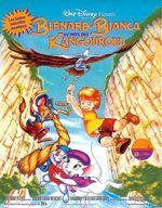 Affiche Bernard et Bianca au pays des kangourous
