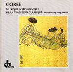 Pochette Corée: Musique instrumentale de la tradition classique