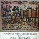 Pochette Chansons populaires de France par Yves Montand