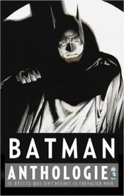 Couverture Batman Anthologie
