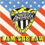 Pochette I Am the Law (Single)