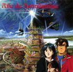 Pochette Les Ailes d'Honnéamise - Royal Space Force (OST)