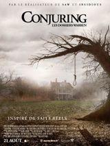 Affiche Conjuring : Les Dossiers Warren