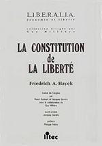 Couverture La Constitution de la liberté