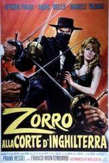 Affiche Zorro au service de la reine
