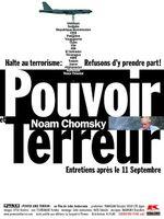 Affiche Noam Chomsky : Pouvoir et Terreur, entretiens après le 11 septembre