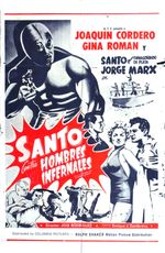 Affiche Santo contra Hombres Infernales