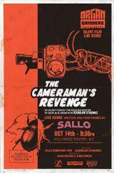 Affiche La Vengeance de l'opérateur de cinéma