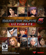 Jaquette Dead or Alive 5 : Ultimate