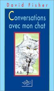 Couverture Conversations avec mon chat