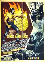 Affiche Blue Demon contra Cerebros Infernales