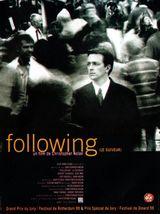 Affiche Following, le suiveur