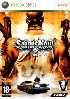 Jaquette Saints Row 2