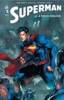 Couverture À toute épreuve - Superman, tome 2