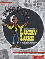 Couverture Les personnages de Lucky Luke.