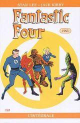 Couverture 1963 - Fantastic Four : L'Intégrale, tome 2
