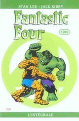 Couverture 1964 - Fantastic Four : L'Intégrale, tome 3