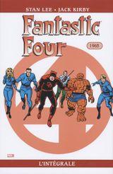 Couverture 1965 - Fantastic Four : L'Intégrale, tome 4