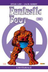 Couverture 1966 - Fantastic Four : L'Intégrale, tome 5