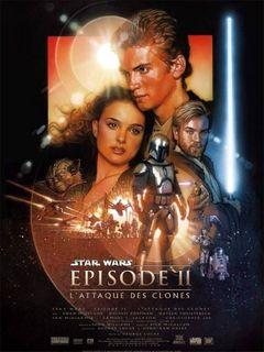 Affiche Star Wars : Épisode II - L'Attaque des clones